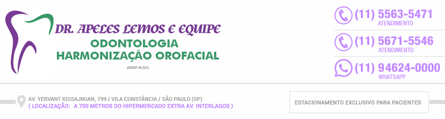Clínica Odontológica Zona Sul - Clínica Lemos - (11) 5563-5471