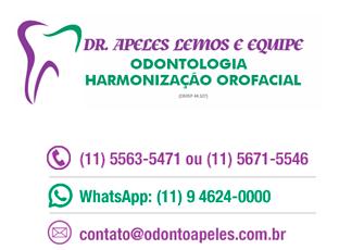 Dentista Zona Sul SP - Clínica Odontológica Apeles Lemos - 5563-5471