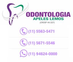 Dentista Zona Sul SP - Odontologia Apeles Lemos - 5563-5471